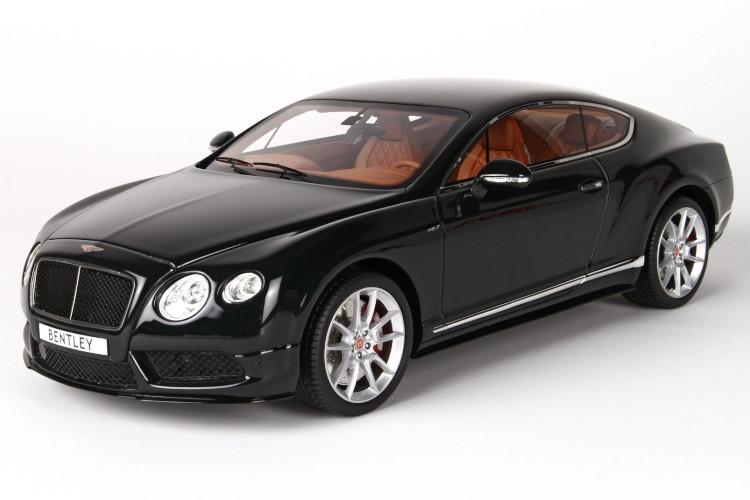 BBR MODEL 1/18 ベントレー コンチネンタル GT V8 Bentley Continental GT V8 S Midnight Emerald 20台限定