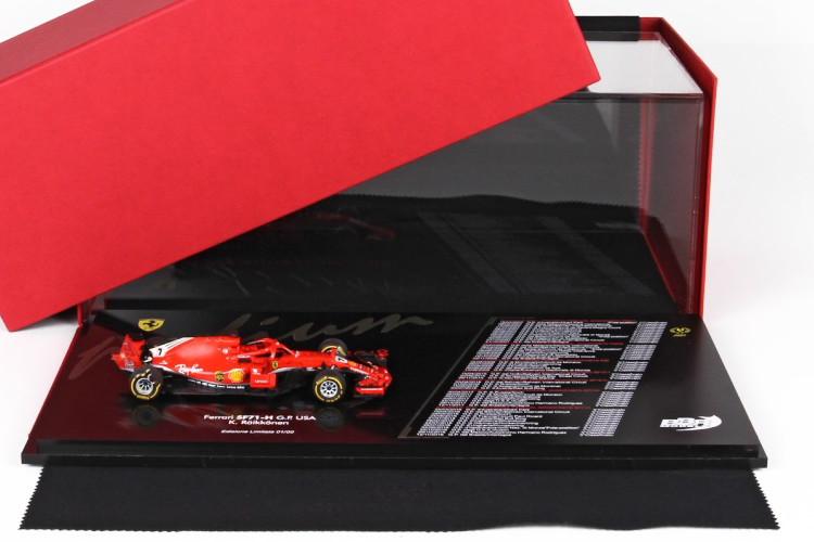 Edition USA 1:43 アメリカGP 1/43 レッド Raikkonen SF71H 2018 BBR Austin BBR Limited 189pcs SF71H オースティン 189台限定 フェラーリ GP ライコネン 2018 RED Ferrari