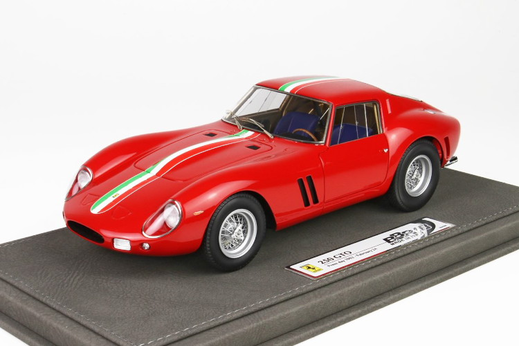 BBR 1 18 フェラーリ 250 GTO PRESS DAY 24th 1962年 2月 ショーケース付属 レッド 300台限定 BBR 1:18 Ferrari 250 GTO PRESS DAY 24th FEBRUARY 1962 CON VET