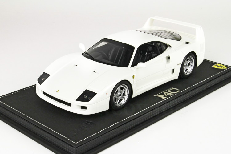 1/18 BBR 1987 1:18 ホワイト フェラーリ F40 Ferrari 24台限定 BBR ディスプレイケース付き