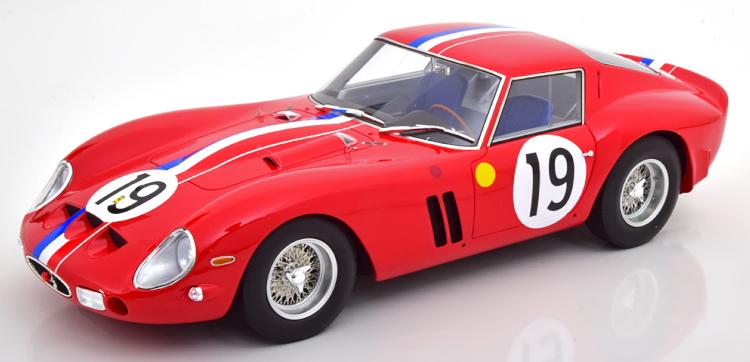 CMR 1/12 フェラーリ 250 GTO #19 ル・マン 1962 Ferrari 24h Le Mans Guichet/Noblet