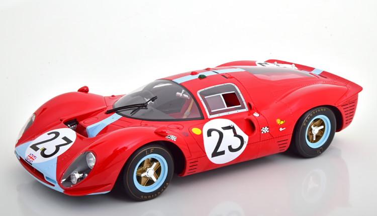CMR 1/12 フェラーリ 412P #23 ルマン1967 Ferrari 24h Le Mans Attwood/Courage