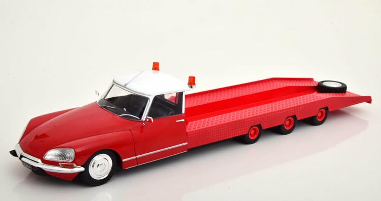 CMR 1/18 シトロエン DS Tissier オートトランスポーター 1970 レッド CMR 1:18 Citroen DS Tissier Autotransporter 1970 red