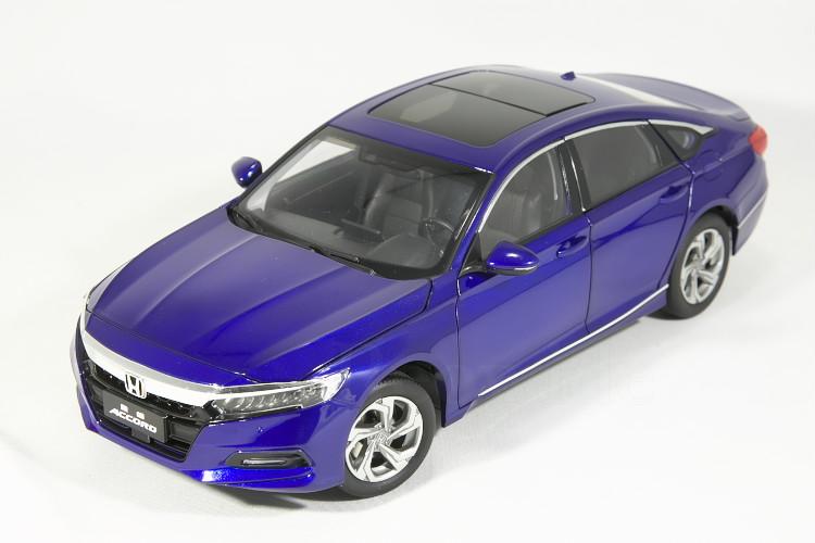 ホンダ特注 1/18 ホンダ アコード ブルー CV3 2020 Honda Accord