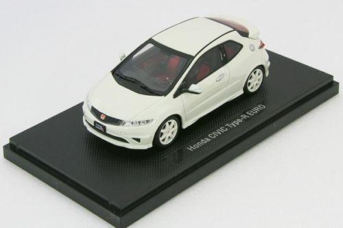EBBRO 売却 1 43 ホンダ シビック タイプ EURO Version 日本最大級の品揃え R Japan ホワイト