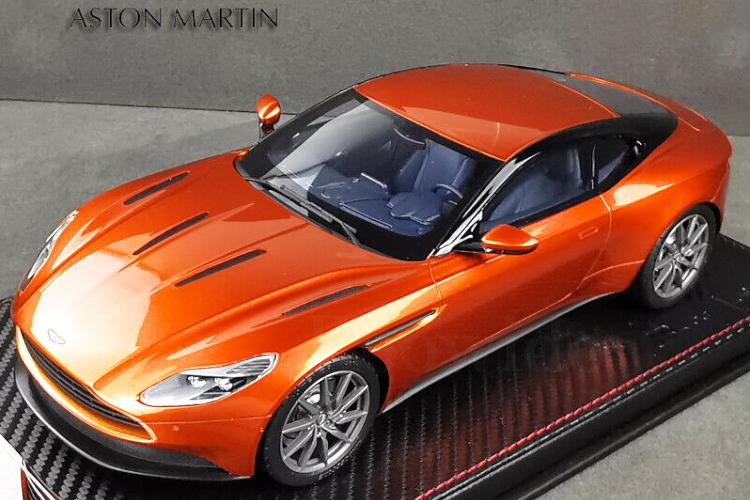 フロンティアート 無料 1 18 Sophiart 引出物 アストンマーチン DB11 Martin オレンジ Aston