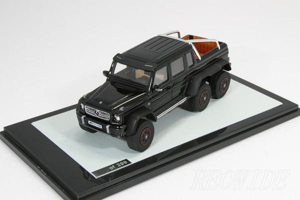 GLM 1/43 ベンツ AMG G63 6×6 ブラック 299台限定