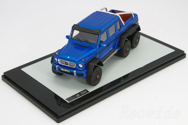 GLM 1/43 ベンツ AMG G63 6×6 ブルー・メタリック 299台限定
