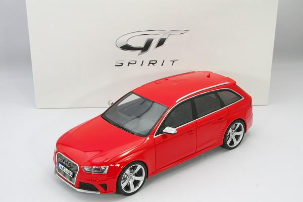 GT スピリット 1/18 アウディ RS4 Avant 2012 B8 レッド 600台限定
