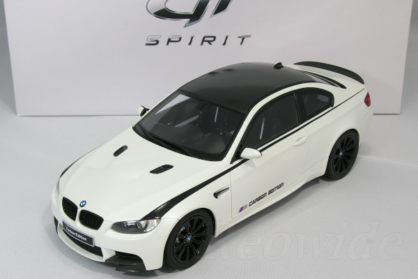 GT Spirit 1/18 BMW M3 E92 Carbon Edition Only 504 Vehicles