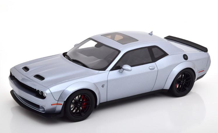 GTスピリット 1/18 ダッジ チャレンジャー SRT ヘルキャット レッドアイ ワイドボディ 2019 グレーメタリック 999台限定 Dodge Challenger Hellcat Redeye Widebody greymetallic