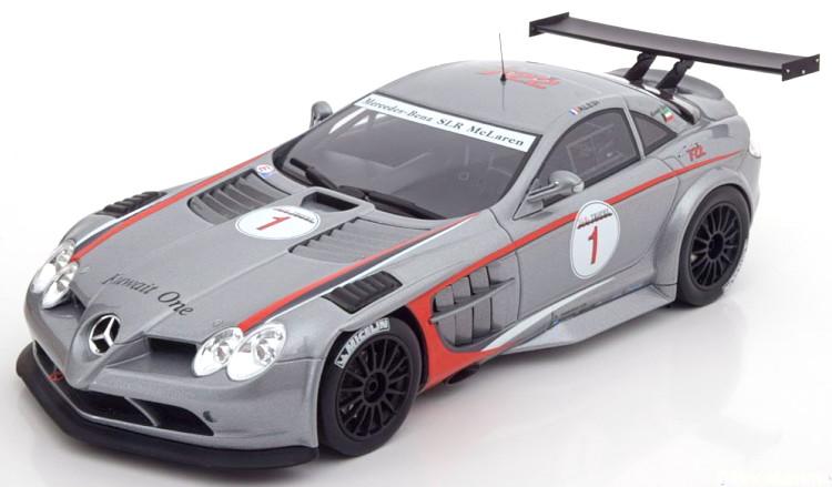 GT メルセデス 722 GTスピリット #1 1/18 McLaren マクラーレン Trophy Alesi Mercedes SLR GT 2007