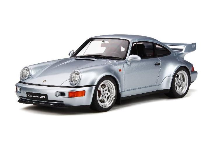 GT スピリット 1/18 ポルシェ 911 964 カレラ RS 3.8 シルバー GT Spirit Porsche CARRERA RS 3.8 POLAR SILVER