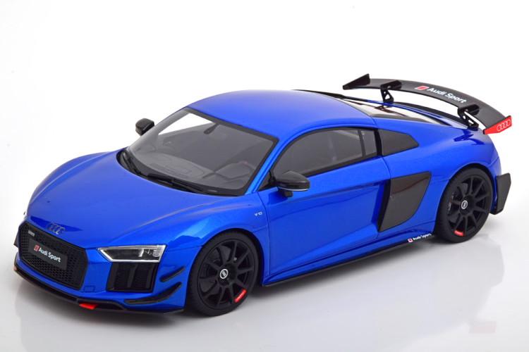 GT SPIRIT 1/18 アウディ Audi R8 Quattro V10 2018 bluemetallic Limited Edition 500 pcs