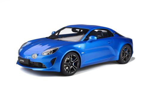 GTスピリット 1/8 ルノー アルピーヌ A110 プレミアム 2018 GT Spirit 1:8 Renault Alpine A110 premium blue with acrylcase