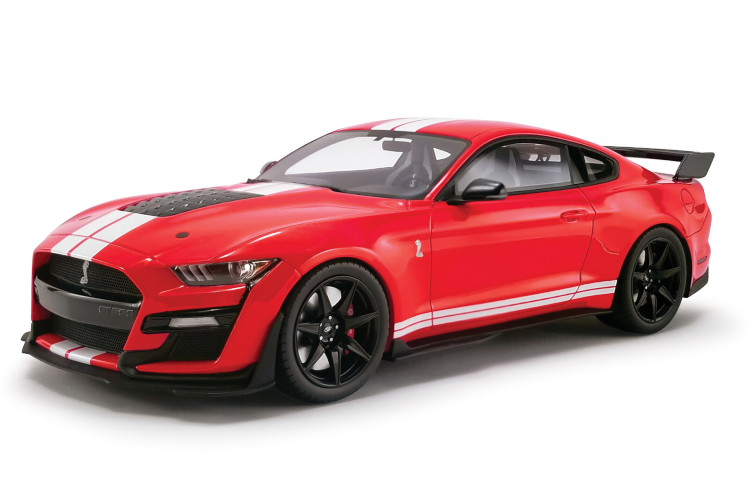 GTスピリット 1/18 USA フォード マスタング シェルビー GT500 クーペ 2020 レッド/ホワイト GT-SPIRIT 1:18 USA FORD MUSTANG SHELBY GT500 COUPE 2020 RED/WHITE