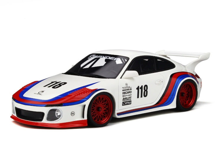 GTスピリット 1/18 ポルシェ 911 997 OLD & NEW ボディキット 2018 ホワイト 999台限定 GT-SPIRIT 1/18 PORSCHE 911 997 OLD & NEW BODY KIT 2018 WHITE LIMITED 999 ITEMS