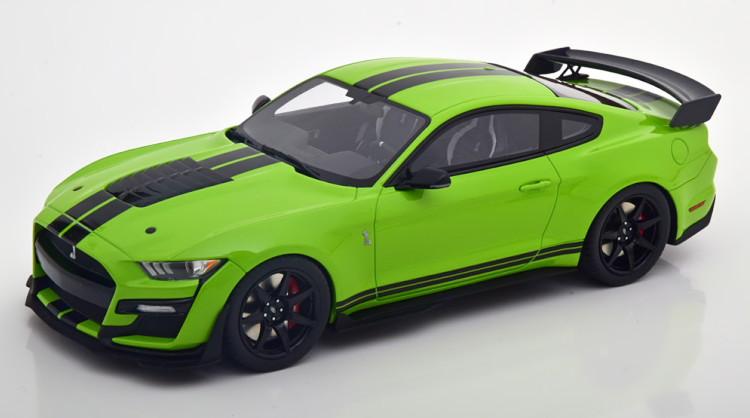 1200台限定 Edition Shelby GT500 ブラック GTスピリット グリーン フォード Spirit 2020 2020 1:18 GT pcs Ford シェルビー 1/18 black 1200 GT500 Limited green