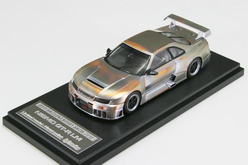 HPI 1/43 #8161 ニスモ R33 スカイライン GT-R LM メタルポリッシュ 静岡ホビーショー限定モデル