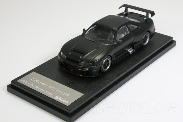 HPI 1/43 ニスモ R33 スカイライン GT-R LM ブラック ミニカーファン限定モデル
