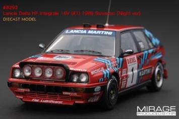 hpi racing 1 43 ランチア デルタ HF インテグラーレ 16V 男女兼用 ウェブ限定モデル Sanremo Delta Lancia #1 ライトポッド仕様 Integrale サンレモラリー 1989 注文後の変更キャンセル返品