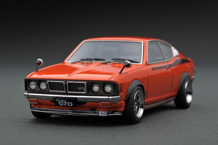 イグニッション 1/43 三菱 コルト ギャラン GTO 2000GSR A57 オレンジ ignition 1/43 Mitubishi Colt Galant GTO 2000GSR A57 Orange
