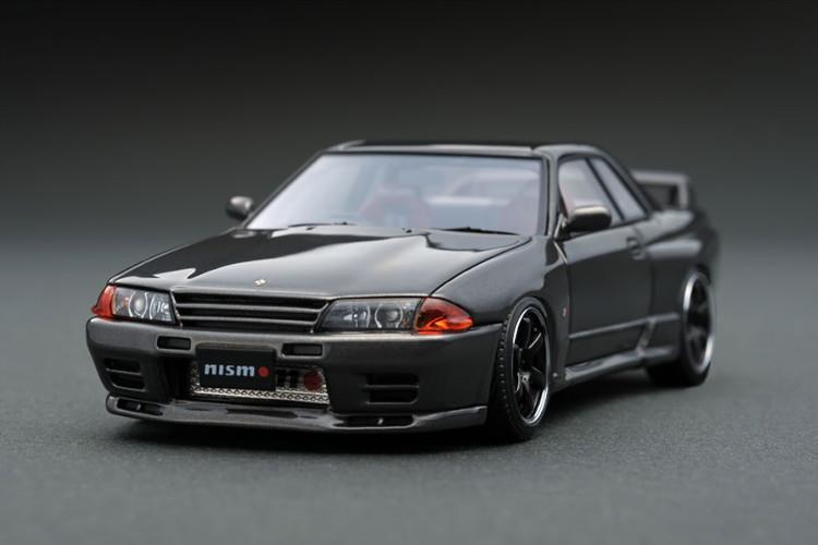 イグニッション 1/43 ニスモ R32 GT-R Sチューン ガンメタリック/ブラックホイール ignition 1/43 Nismo R32 GT-R S-tune Gun Metallic/black wheel