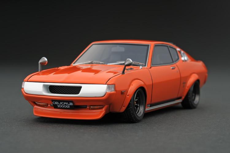 イグニッション 1/43 トヨタ・セリカ 2000GT LB RA25 オレンジ Ignition 1:43 Toyota Celica 2000GT LB RA25 Orange