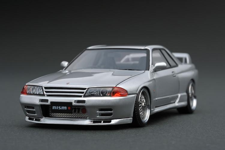 イグニッション 1/43 ニスモ R32 GT-R Sチューン シルバー ignition 1/43 Nismo R32 GT-R S-tune Silver