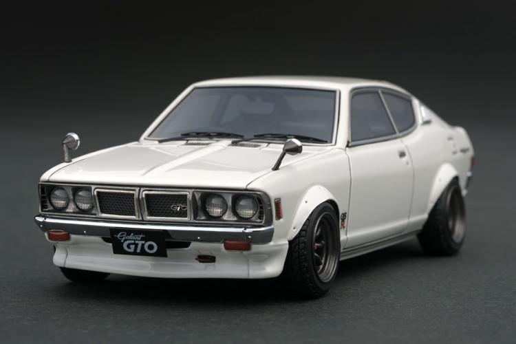 イグニッション 1/43 三菱 コルト ギャラン GTO 2000GSR A57 ホワイト ignition 1/43 Mitubishi Colt Galant GTO 2000GSR A57 White