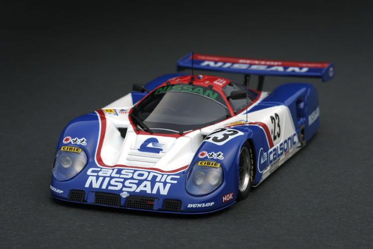 イグニッション 1/43 日産 R89C #23 1989 ル・マン24 ブルー/ホワイト ignition 1:43 Nissan R89C #23 1989 Le Mans blue white
