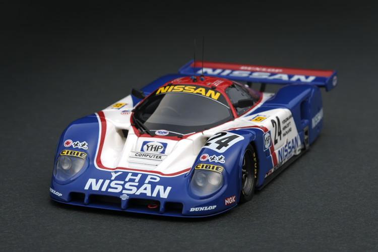 イグニッション 1/43 日産 R89C #24 1989 ル・マン24 ブルー/ホワイト ignition 1:43 Nissan R89C #24 1989 Le Mans blue white