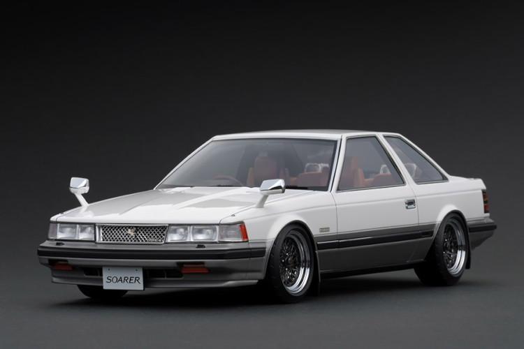 イグニッション 1/18 トヨタ ソアラ 2800GT Z10 ホワイト/ゴールド Ignition 1:18 Toyota Soarer 2800GT Z10 White/Gold