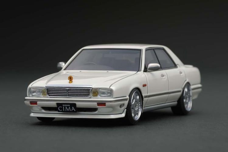 イグニッション 1/43 日産 セドリックシーマ Y31 パールホワイト ignition 1:43 Nissan Cedric Cima Y31 Pearl White