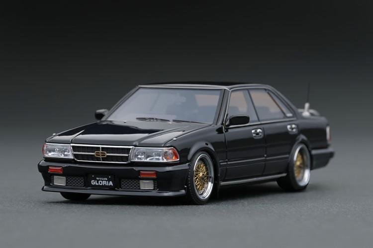 イグニッション 1/43 日産 グロリア Y31 グランツーリスモ SV ブラック ignition 1:43 Nissan Gloria Y31 Gran Turismo SV Black