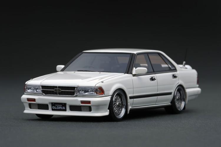 イグニッション 1/43 日産 グロリア Y31 グランツーリスモ SV ホワイト ignition 1:43 Nissan Gloria Y31 Gran Turismo SV White