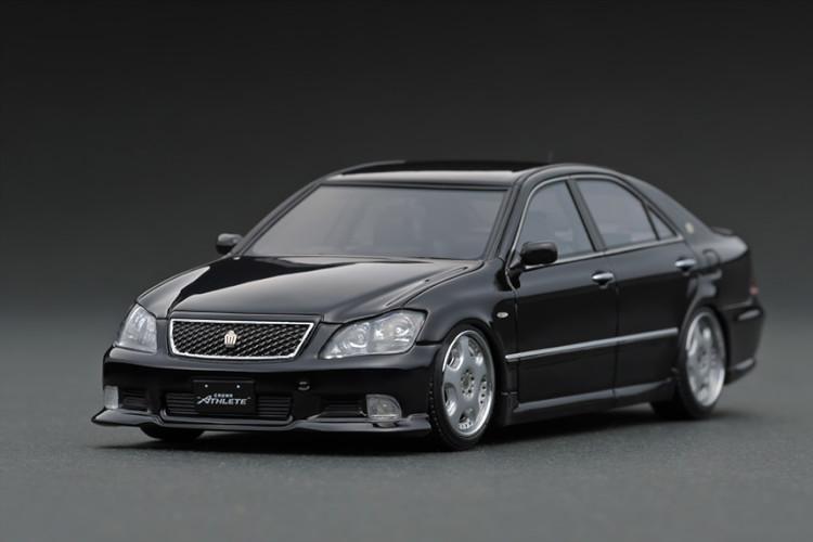 イグニッション 1/43 トヨタ クラウン GRS180 3.5 アスリート ブラック Ignition 1:43 Toyota Crown GRS180 3.5 Athlete Black