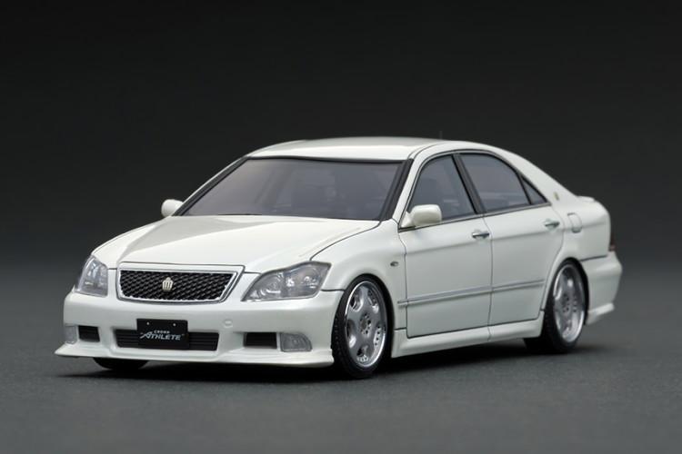 イグニッション 1/43 トヨタ クラウン GRS180 3.5 アスリート パールホワイト Ignition 1:43 Toyota Crown GRS180 3.5 Athlete Pearl White