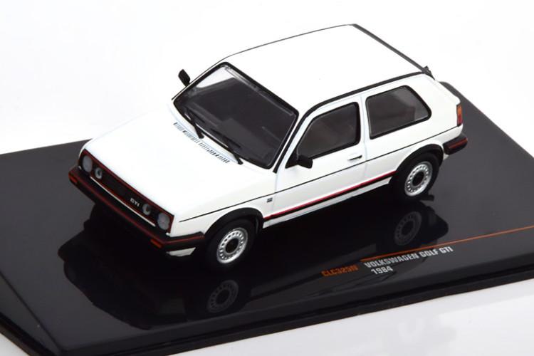 イクソ 1/43 フォルクスワーゲン ゴルフ 2 GTI 1984 ホワイト Ixo 1:43 VW Golf 2 GTI 1984 white