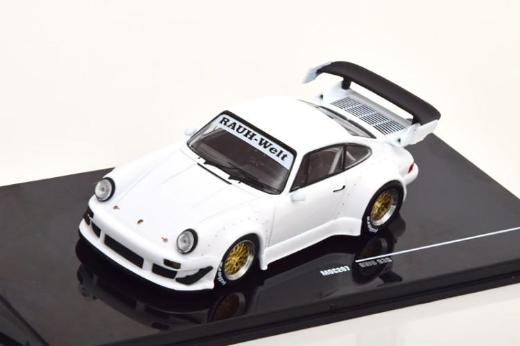 イクソ 1/43 ポルシェ 911 930 RWB 2018 ホワイト Ixo 1:43 Porsche 911 (930) RWB 2018 White