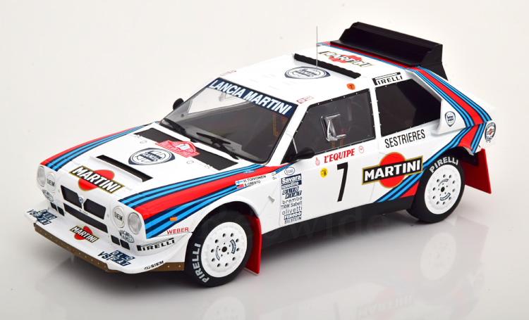 イクソ 1 限定価格セール 18 ランチア デルタ S4 優勝 ラリーモンテカルロ 1986 マルティニ レーシングIxo Cresto Rally 1:18 Toivonen Delta 10%OFF winner Martini Racing Monte Lancia Carlo