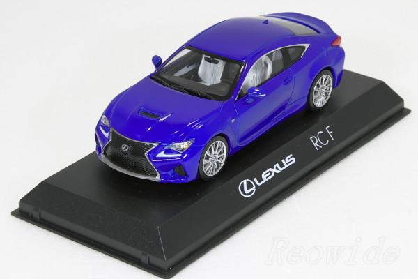 レクサス特注 京商 1/43 レクサス RC F ブルーメタリック 2015 非売品 RCF RC-F