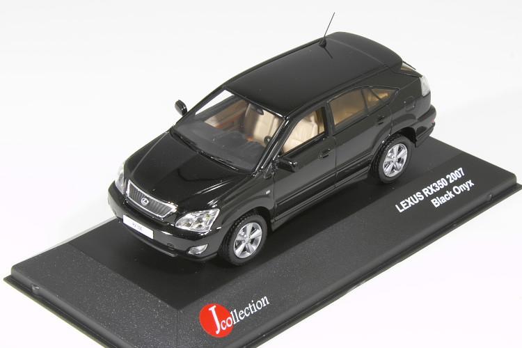 京商 Jコレクション 1/43 レクサス RX350 2007 ブラック Lexus RX 350 トヨタ ハリアー HARRIER