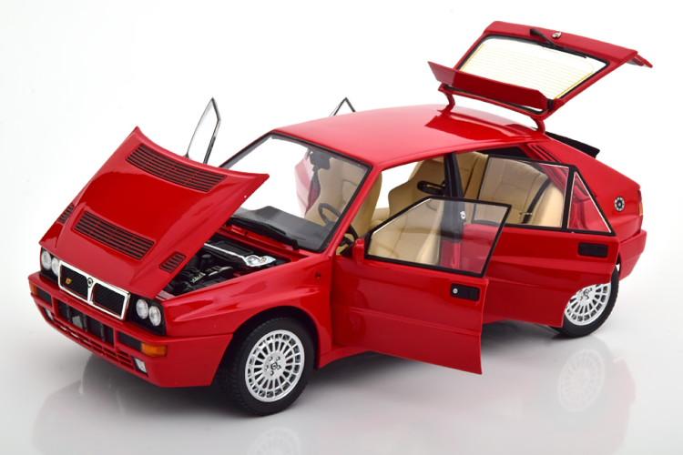 京商 1/18 ランチア デルタ HF インテグラーレ エヴォルツィオーネ2 1993-1994 レッド Kyosho 1:18 Lancia Delta HF Integrale Evoluzione 2 1993-1994 red