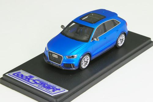 ルックスマート 1/43 アウディ RS Q3 コンセプト マット・メタリック・ブルー 99台限定