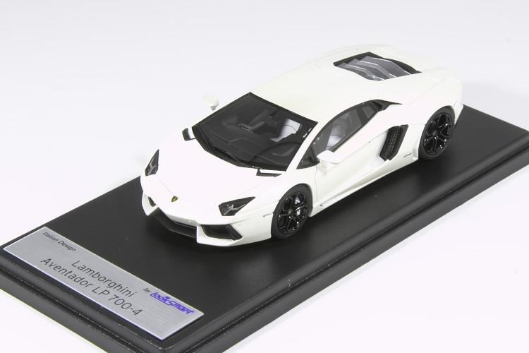 ルックスマート 1 43 超特価SALE開催 ランボルギーニ アヴェンタドール LP700-4 ホワイト White お得クーポン発行中 Aventador Looksmart Canopus 2011 Lamborghini