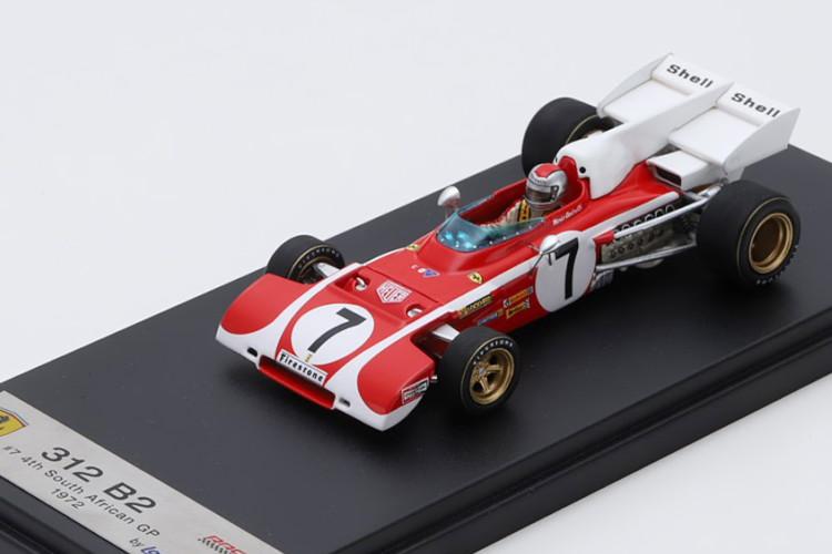 ルックスマート 1/43 フェラーリ 312 B2 南アフリカGP 1972 アンドレッティ レッド/ホワイト Looksmart 1:43 Ferrari 312 B2 GP Argentina 1972 Andretti red white