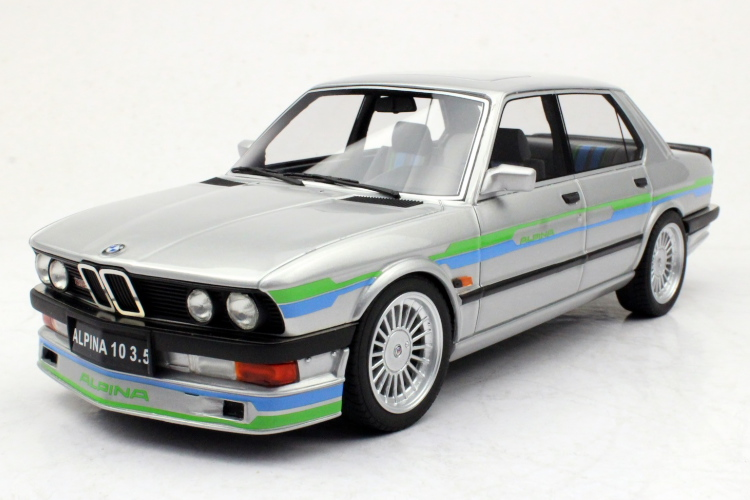 LS Collectibles 1/18 BMW アルピナ B10 3.5 シルバー 250台限定 ALPINA silver Limited 250