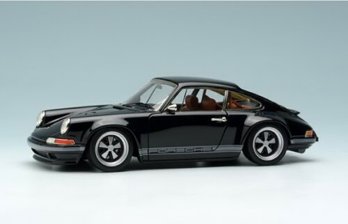 メイクアップ ヴィジョン 1/43 シンガー 964 911 ブラック MakeUp VISION 1:43 Singer 964 911 black