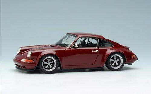 メイクアップ ヴィジョン 1/43 シンガー 964 911 バーガンディ MakeUp VISION 1:43 Singer 964 911 burgundy